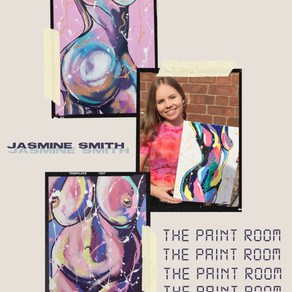 Jasmine Smith: the creation of 'The Paint Room'