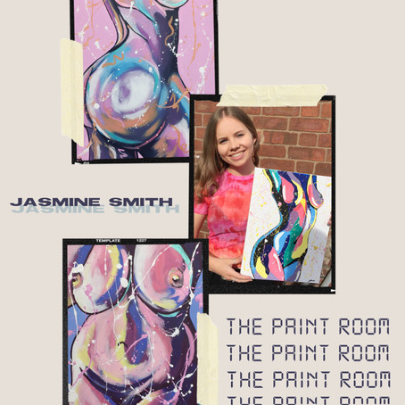 Jasmine Smith: the creation of 'The Paint Room'
