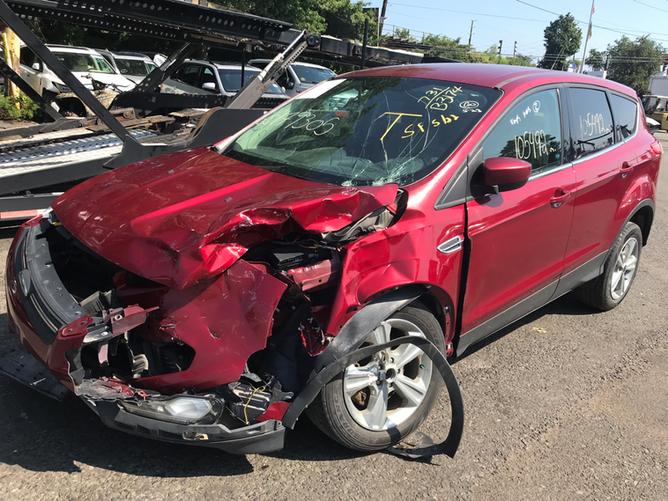 Ford Escape Red
