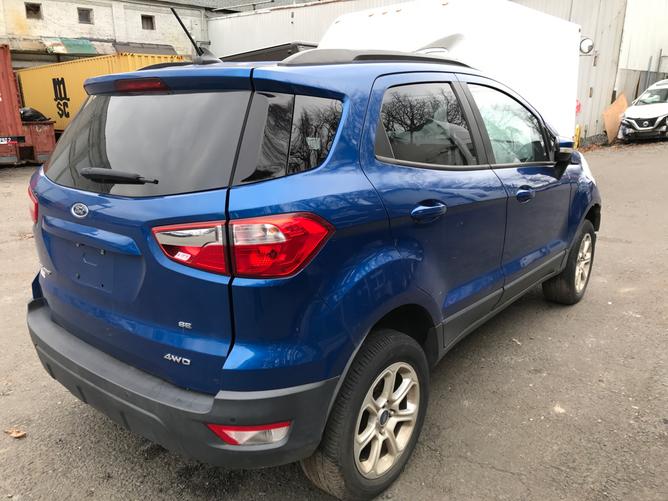 Ford EcoSport Blue 2.0 rear 1