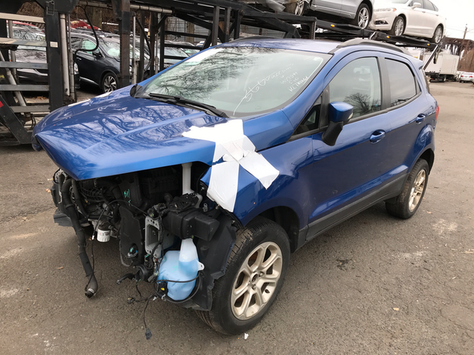 Ford EcoSport Blue 2.0 front 2