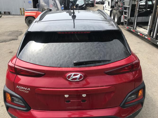 Hyundai Kona - вид сзади №2