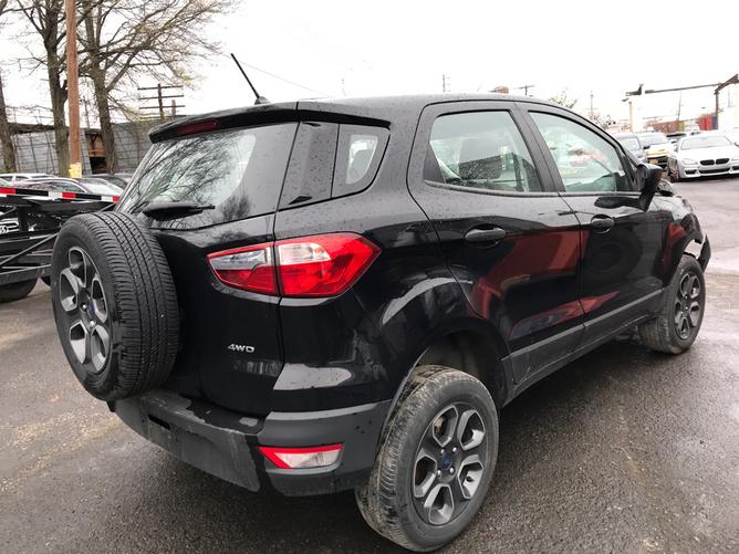 Ford EcoSport Black rear