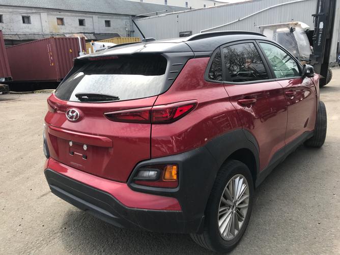 Hyundai Kona - вид сзади