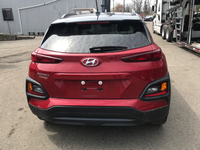 Hyundai Kona - вид сзади №3