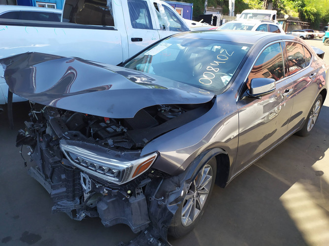 Acura TLX Gray front side