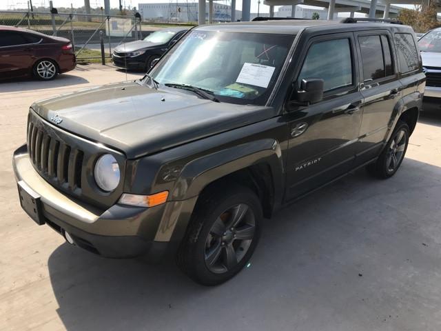 Jeep Patirot Green