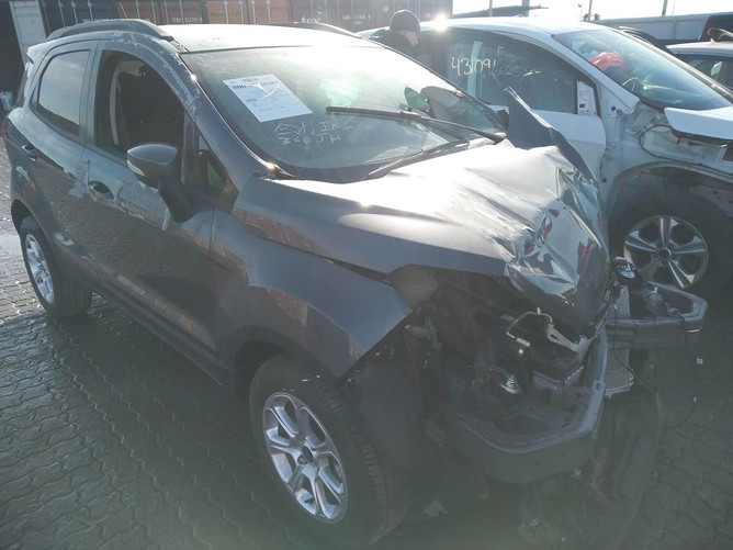 Ford Ecosport Gray front