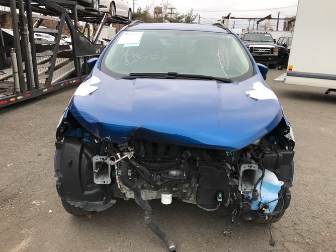 Ford EcoSport Blue 2.0 front
