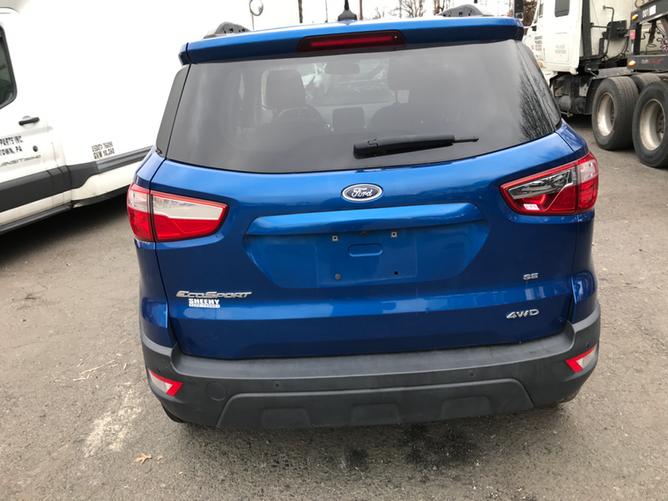 Ford EcoSport Blue 2.0 rear2