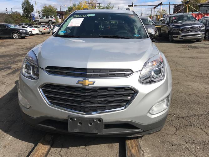 Chevrolet Equinox Silver Front