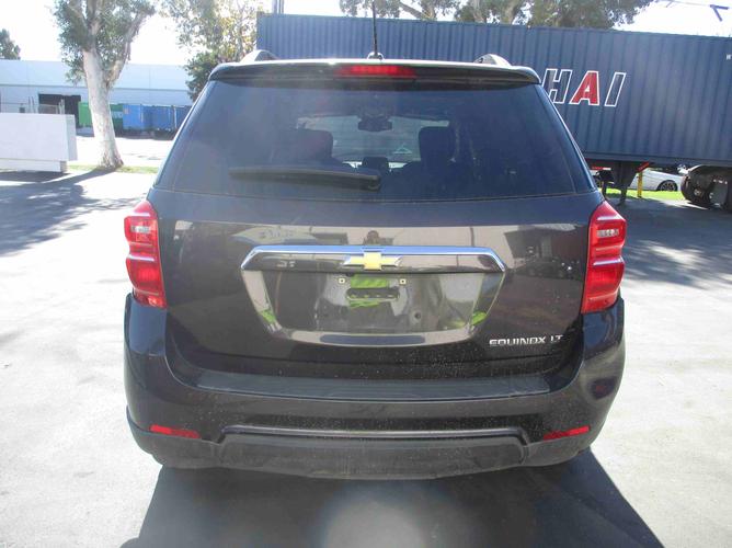 Chevrolet Equinox rear