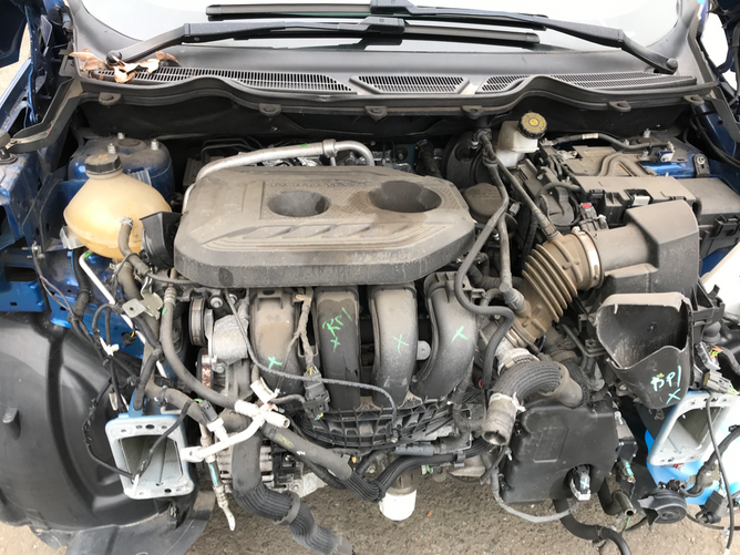 Ford EcoSport Blue 2.0