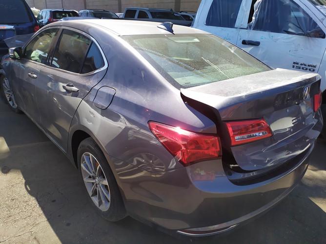 Acura TLX Gray rear left