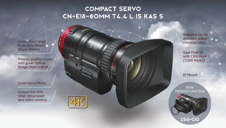 Canon - Compact Servo Lens