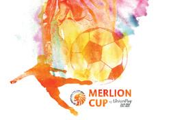 Merlion Cup Illustration & Identity