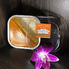 Thai Tea Fudge Cake