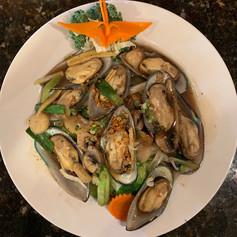 Mussel Garlic