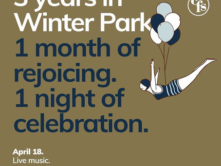 3 years in Winter Park!