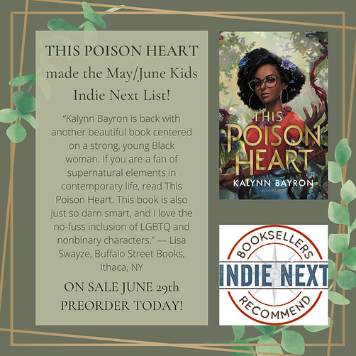 THIS POISON HEART made the MayJune Kids Indie Next List!.png