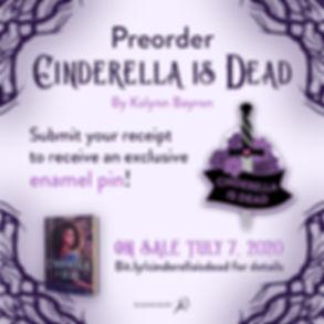 Cinderella is dead preorder IG v2 opt2 (