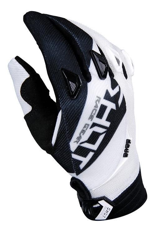 Shot Devo Alert MX Gloves Black/White