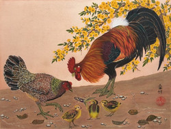 Christina Volz - Rooster, Hen, Chick