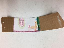 Coffed cup collar card