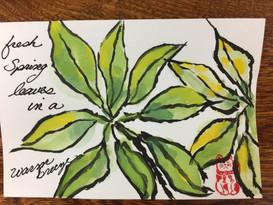 Leaves etegami