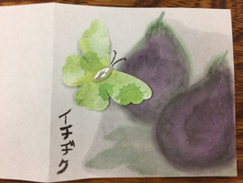 Butterfly and figs