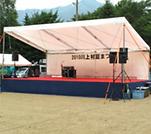イベント ステージ設営