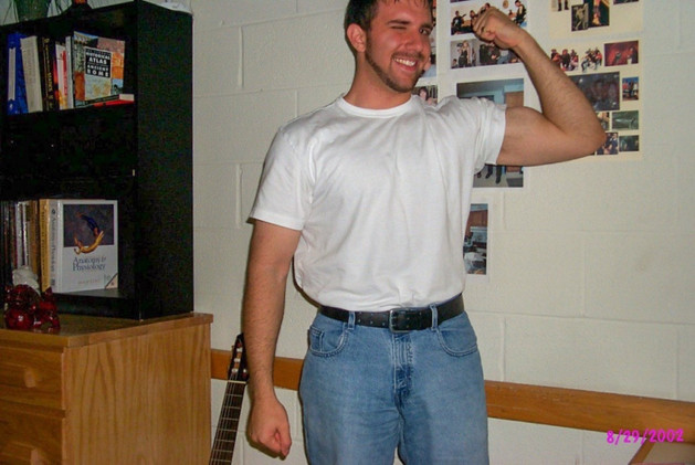 Age 22, Virginia Tech, Lee Hall