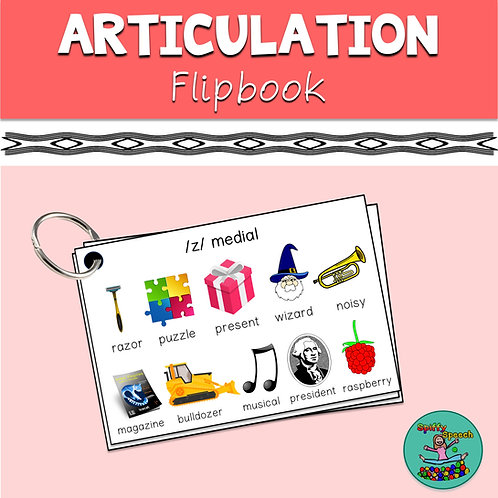 Articulation Flipbook