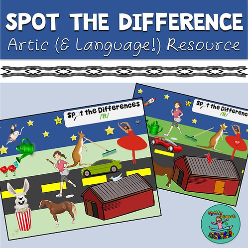 Spot the Differences - Articulation & Language