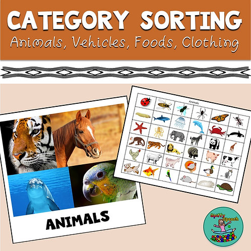 Category Sorting: Basic Categorization & Sub-categories