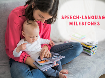 Speech-Language Milestones Resource List