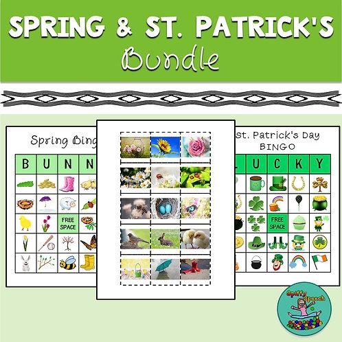 Spring Speech Therapy Bundle