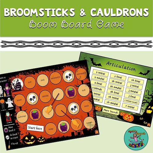 Broomsticks & Cauldrons: Halloween Boom Card Game