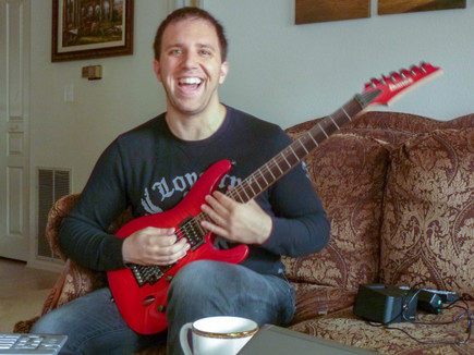 "2011, New Guitar ""Purgation Fire"""