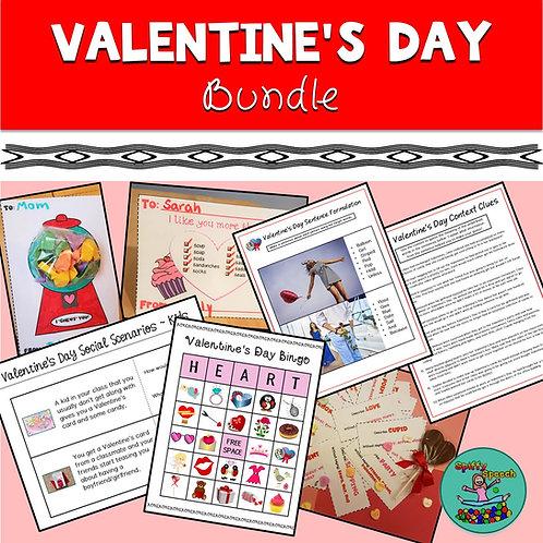 Valentine's Day Articulation & Language Bundle