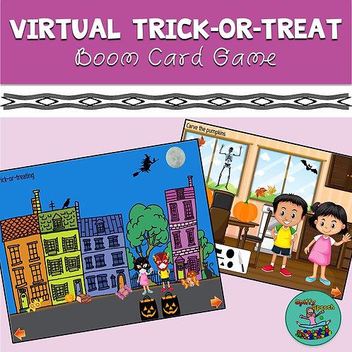 Virtual Trick-or-Treat: Boom Card Game