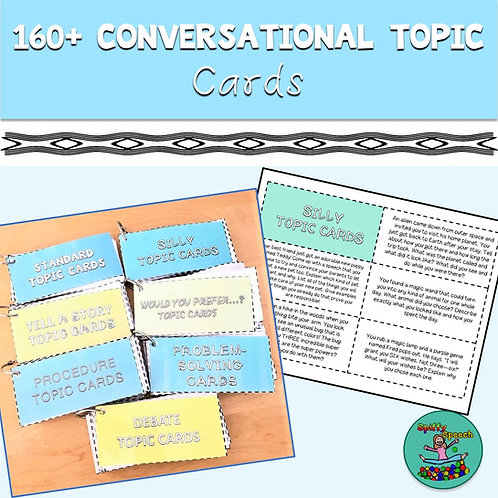 160+ Conversation Topic Cards