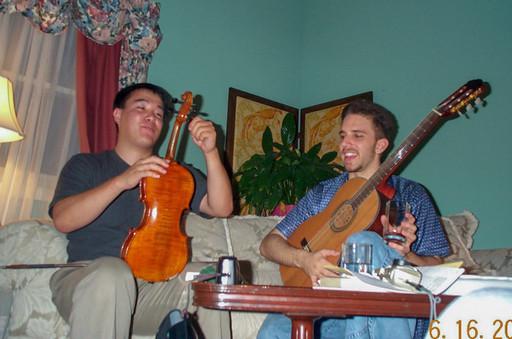 Age 21, Playing Vivaldi