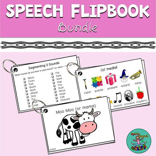 Speech Flipbook Bundle