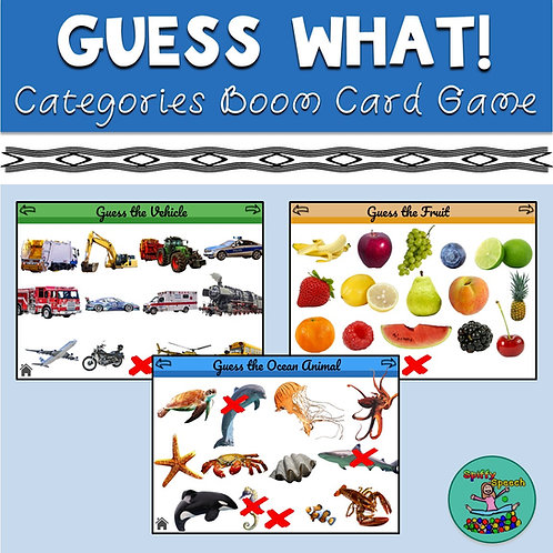 Guess What! Boom Card Game