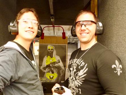 Age 31, Shooting with Arnaud