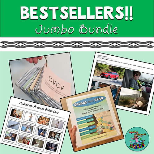 Bestsellers & Favorites Jumbo Bundle