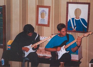 Age 12, Playing Sanitarium by Metallica