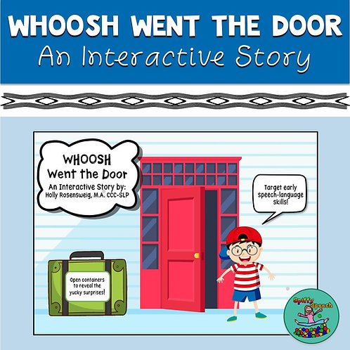 Whoosh Went the Door: An Interactive Boom Card Story