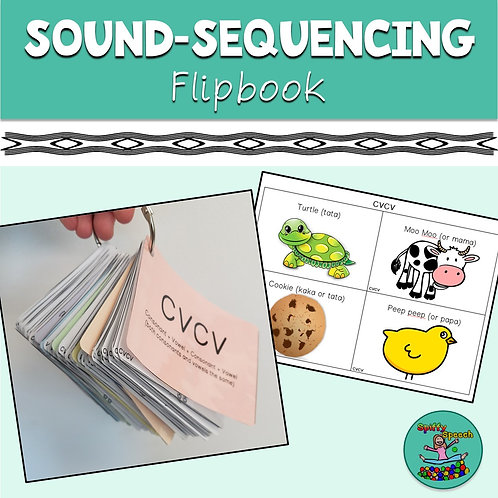 Sound-Sequencing Flipbook
